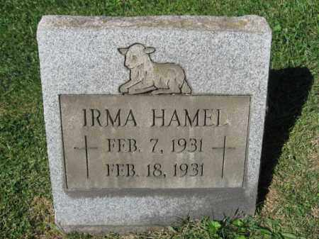 HAMEL, IRMA - Northampton County, Pennsylvania | IRMA HAMEL - Pennsylvania Gravestone Photos