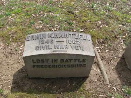 HARTZELL (CW), ERWIN K. - Northampton County, Pennsylvania | ERWIN K. HARTZELL (CW) - Pennsylvania Gravestone Photos