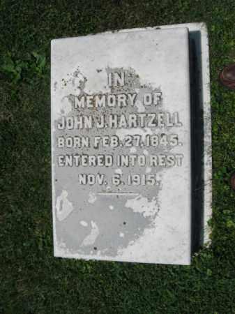 HARTZELL, JOHN J - Northampton County, Pennsylvania | JOHN J HARTZELL - Pennsylvania Gravestone Photos