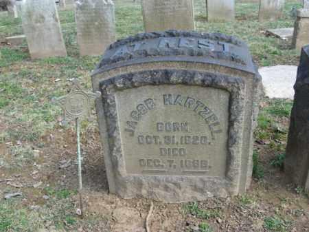 HARTZELL, JACOB - Northampton County, Pennsylvania | JACOB HARTZELL - Pennsylvania Gravestone Photos