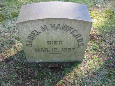 HAWKE,D.D.S., DANIEL M. - Northampton County, Pennsylvania   DANIEL M. HAWKE,D.D.S. - Pennsylvania Gravestone Photos