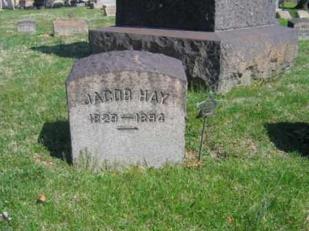 HAY, CAPT. JACOB - Northampton County, Pennsylvania | CAPT. JACOB HAY - Pennsylvania Gravestone Photos
