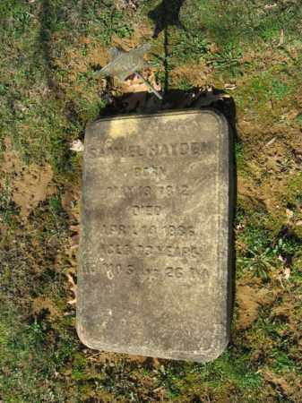 HAYDEN, SAMUEL - Northampton County, Pennsylvania | SAMUEL HAYDEN - Pennsylvania Gravestone Photos