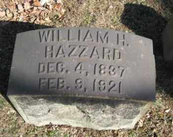 HAZZARD (CW), WILLIAM H. - Northampton County, Pennsylvania | WILLIAM H. HAZZARD (CW) - Pennsylvania Gravestone Photos