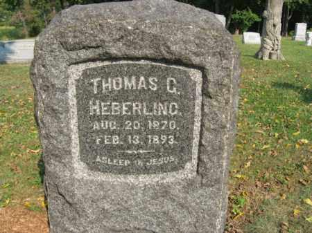 HEBERLING, THOMAS G. - Northampton County, Pennsylvania | THOMAS G. HEBERLING - Pennsylvania Gravestone Photos