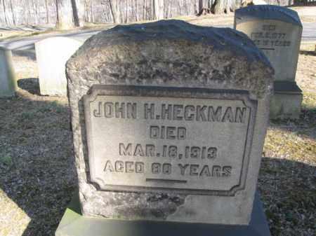 HECKMAN, JOHN H. - Northampton County, Pennsylvania | JOHN H. HECKMAN - Pennsylvania Gravestone Photos