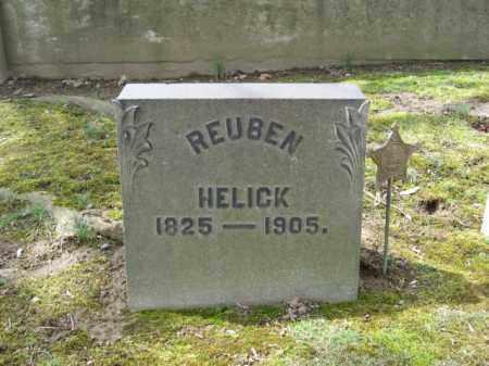 HELICK, REUBEN - Northampton County, Pennsylvania | REUBEN HELICK - Pennsylvania Gravestone Photos