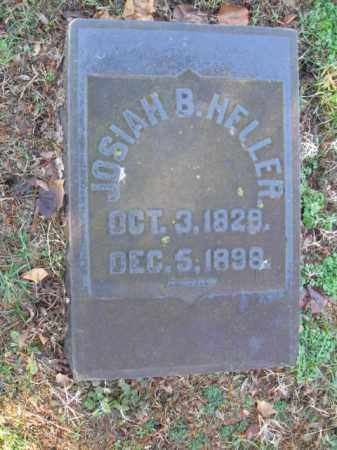 HELLER, JOSIAH B. - Northampton County, Pennsylvania | JOSIAH B. HELLER - Pennsylvania Gravestone Photos