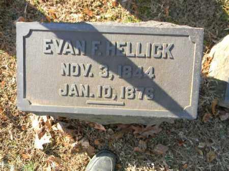 HELLICK, EVAN F. - Northampton County, Pennsylvania   EVAN F. HELLICK - Pennsylvania Gravestone Photos