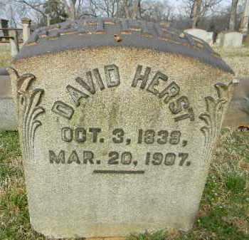 HERST, DAVID - Northampton County, Pennsylvania | DAVID HERST - Pennsylvania Gravestone Photos