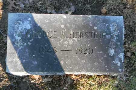 HERSTINE, GEORGE R. - Northampton County, Pennsylvania | GEORGE R. HERSTINE - Pennsylvania Gravestone Photos