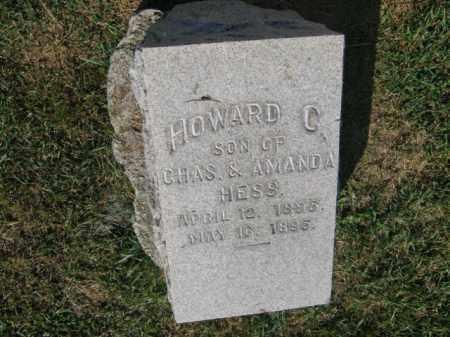 HESS, HOWARD C - Northampton County, Pennsylvania   HOWARD C HESS - Pennsylvania Gravestone Photos