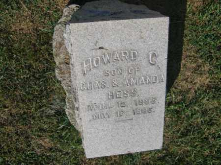 HESS, HOWARD C - Northampton County, Pennsylvania | HOWARD C HESS - Pennsylvania Gravestone Photos