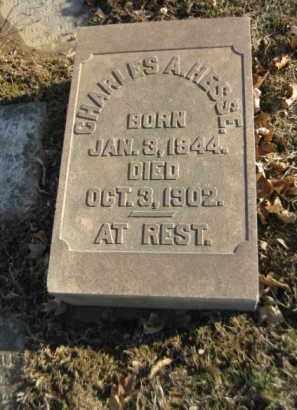 HESSE, CHARLES A. - Northampton County, Pennsylvania | CHARLES A. HESSE - Pennsylvania Gravestone Photos