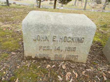 HOCKING, JOHN E. - Northampton County, Pennsylvania | JOHN E. HOCKING - Pennsylvania Gravestone Photos