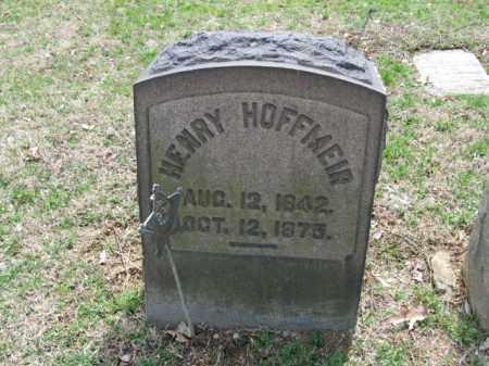 HOFFMEIR, HENRY - Northampton County, Pennsylvania | HENRY HOFFMEIR - Pennsylvania Gravestone Photos