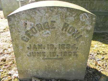 HOHL, GEORGE - Northampton County, Pennsylvania   GEORGE HOHL - Pennsylvania Gravestone Photos