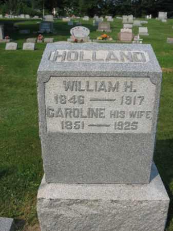 HOLLAND, CAROLINE - Northampton County, Pennsylvania | CAROLINE HOLLAND - Pennsylvania Gravestone Photos