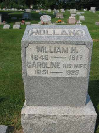 HOLLAND  (CW), WILLIAM H. - Northampton County, Pennsylvania | WILLIAM H. HOLLAND  (CW) - Pennsylvania Gravestone Photos
