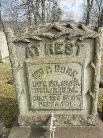 HORN (CW), WILLIAM P. - Northampton County, Pennsylvania | WILLIAM P. HORN (CW) - Pennsylvania Gravestone Photos