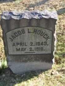 HOUCK, JACOB L. - Northampton County, Pennsylvania | JACOB L. HOUCK - Pennsylvania Gravestone Photos
