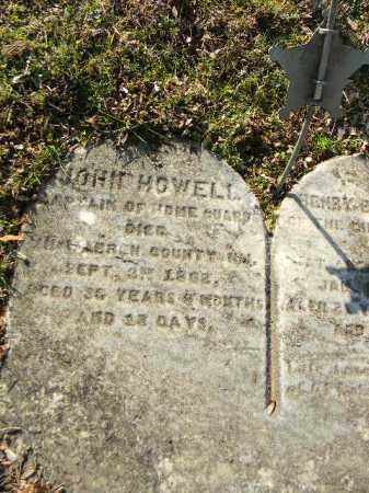 HOWELL, JOHN - Northampton County, Pennsylvania | JOHN HOWELL - Pennsylvania Gravestone Photos