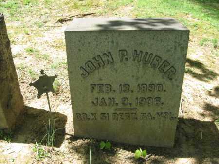 HUBER, JOHN P. - Northampton County, Pennsylvania | JOHN P. HUBER - Pennsylvania Gravestone Photos