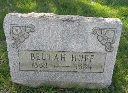 HUFF, BEAULAH - Northampton County, Pennsylvania | BEAULAH HUFF - Pennsylvania Gravestone Photos