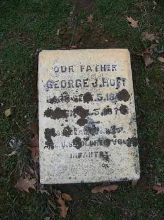 HUFF, GEORGE J. - Northampton County, Pennsylvania | GEORGE J. HUFF - Pennsylvania Gravestone Photos