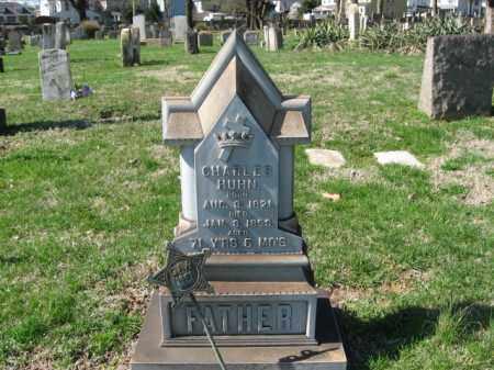 HUHN, CHARLES - Northampton County, Pennsylvania | CHARLES HUHN - Pennsylvania Gravestone Photos