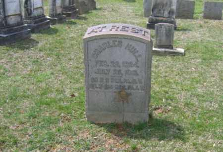 HULL, CHARLES - Northampton County, Pennsylvania   CHARLES HULL - Pennsylvania Gravestone Photos