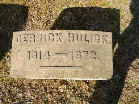 HULLICK, DERRICK - Northampton County, Pennsylvania   DERRICK HULLICK - Pennsylvania Gravestone Photos