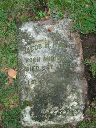 HUMMEL, JACOB  H. - Northampton County, Pennsylvania | JACOB  H. HUMMEL - Pennsylvania Gravestone Photos
