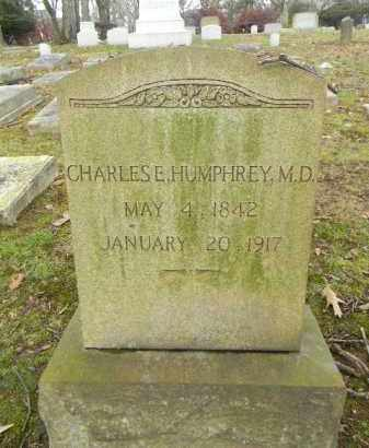 HUMPHREY (CW), CHARLES E. - Northampton County, Pennsylvania | CHARLES E. HUMPHREY (CW) - Pennsylvania Gravestone Photos