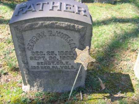 HUTMAN, SGT. GEORGE G. - Northampton County, Pennsylvania | SGT. GEORGE G. HUTMAN - Pennsylvania Gravestone Photos