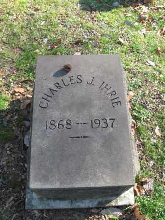 IHRIE, CHARLES J. - Northampton County, Pennsylvania   CHARLES J. IHRIE - Pennsylvania Gravestone Photos