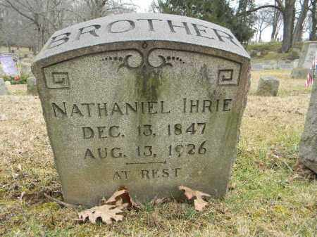 IHRIE, NATHANIEL - Northampton County, Pennsylvania | NATHANIEL IHRIE - Pennsylvania Gravestone Photos