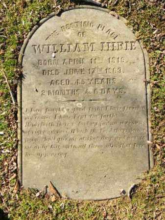 IHRIE, WILLIAM - Northampton County, Pennsylvania | WILLIAM IHRIE - Pennsylvania Gravestone Photos