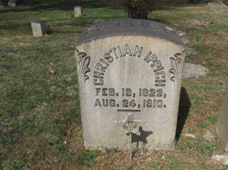 IPPICH, CHRISTIAN - Northampton County, Pennsylvania | CHRISTIAN IPPICH - Pennsylvania Gravestone Photos
