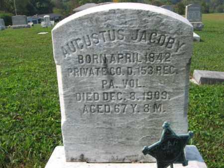 JACOBY, AUGUSTUS - Northampton County, Pennsylvania | AUGUSTUS JACOBY - Pennsylvania Gravestone Photos