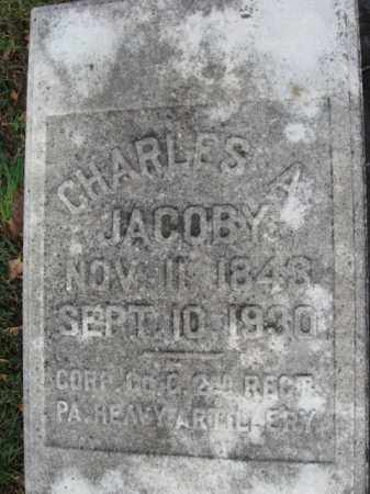 JACOBY (CW), CHARLES A. - Northampton County, Pennsylvania | CHARLES A. JACOBY (CW) - Pennsylvania Gravestone Photos