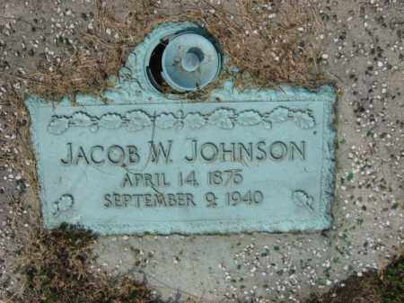 JOHNSON, JACOB W. - Northampton County, Pennsylvania | JACOB W. JOHNSON - Pennsylvania Gravestone Photos
