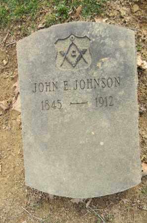 JOHNSON, JOHN E. - Northampton County, Pennsylvania | JOHN E. JOHNSON - Pennsylvania Gravestone Photos