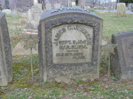 JOHNSON, JAMES C. - Northampton County, Pennsylvania | JAMES C. JOHNSON - Pennsylvania Gravestone Photos