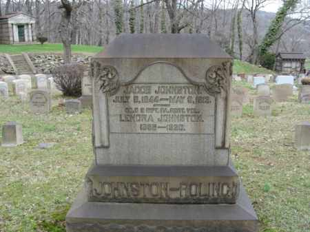 JOHNSTON, JACOB - Northampton County, Pennsylvania | JACOB JOHNSTON - Pennsylvania Gravestone Photos