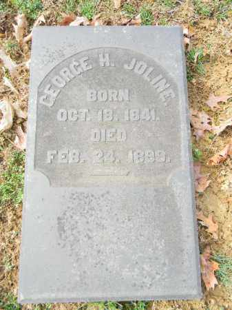 JOLINE, GEORGE H. - Northampton County, Pennsylvania | GEORGE H. JOLINE - Pennsylvania Gravestone Photos