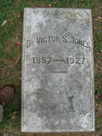 JONES, DR. VICTOR S. - Northampton County, Pennsylvania | DR. VICTOR S. JONES - Pennsylvania Gravestone Photos