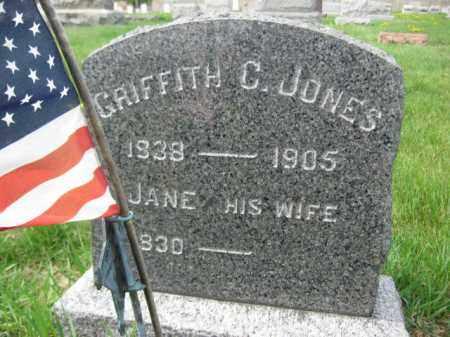 JONES, GRIFFITH C. - Northampton County, Pennsylvania | GRIFFITH C. JONES - Pennsylvania Gravestone Photos