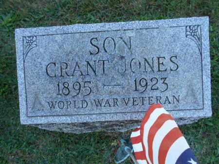 JONES, GRANT - Northampton County, Pennsylvania | GRANT JONES - Pennsylvania Gravestone Photos