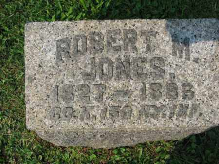 JONES (CW), ROBERT M. - Northampton County, Pennsylvania   ROBERT M. JONES (CW) - Pennsylvania Gravestone Photos